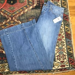 Delia's bell bottom wide leg flare jean 9/10